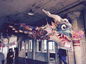 CAJM attendees also had the opportunity to explore Ai Weiwei's @Large exhibition on Alcatraz Island