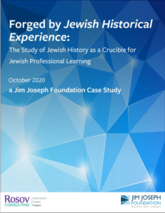 Case Study Jewish History and Profressional Learning